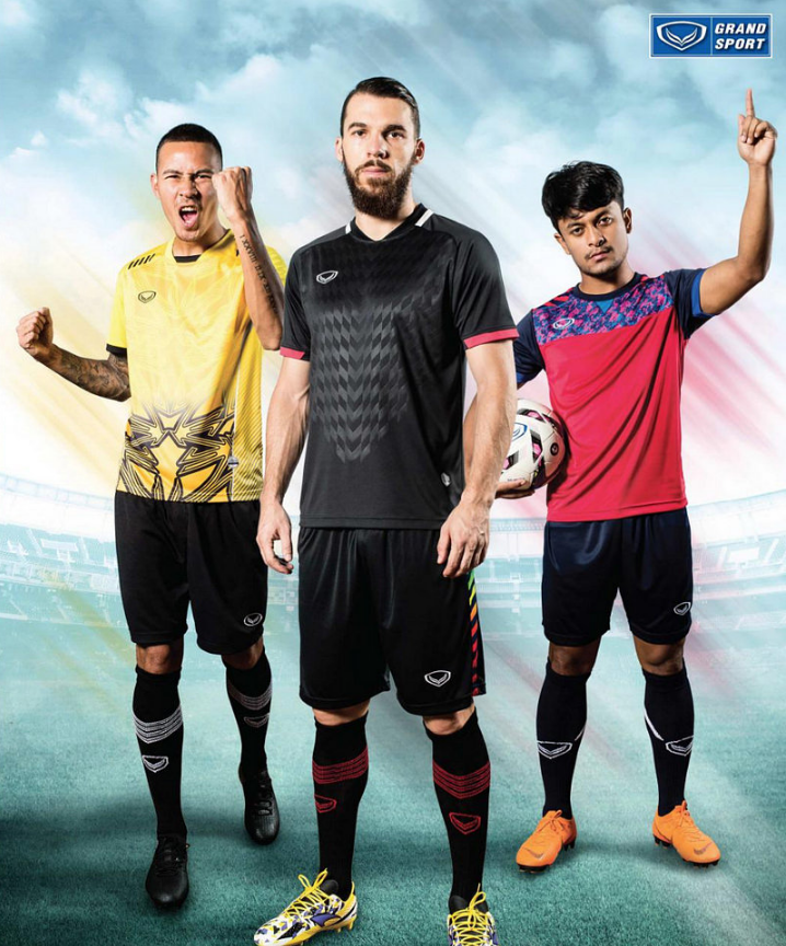 7d7dcbd6a47d Football Shirts - Shorts - Socks Minimum order quantity 30 Shirts or Sets -  Wholesale only. Find the complete and newest Grandsport Collection here
