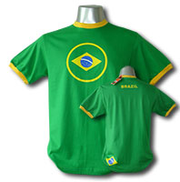 Brasil - Brazil World Cup Fan Shirts - Fussball WM Fan T-Shirts - World Cup Soccer Fan Shirts